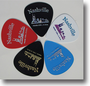 Giant Nashville Guitar Pick Magnets