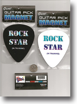 Rock Star Guitar Pic Magnet
